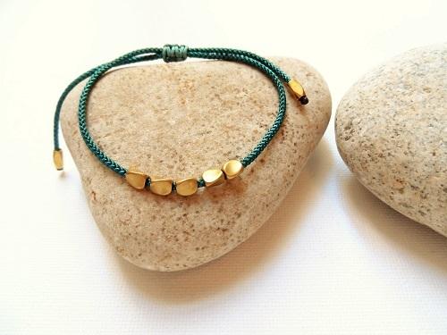 Health Band bracelet copper teal