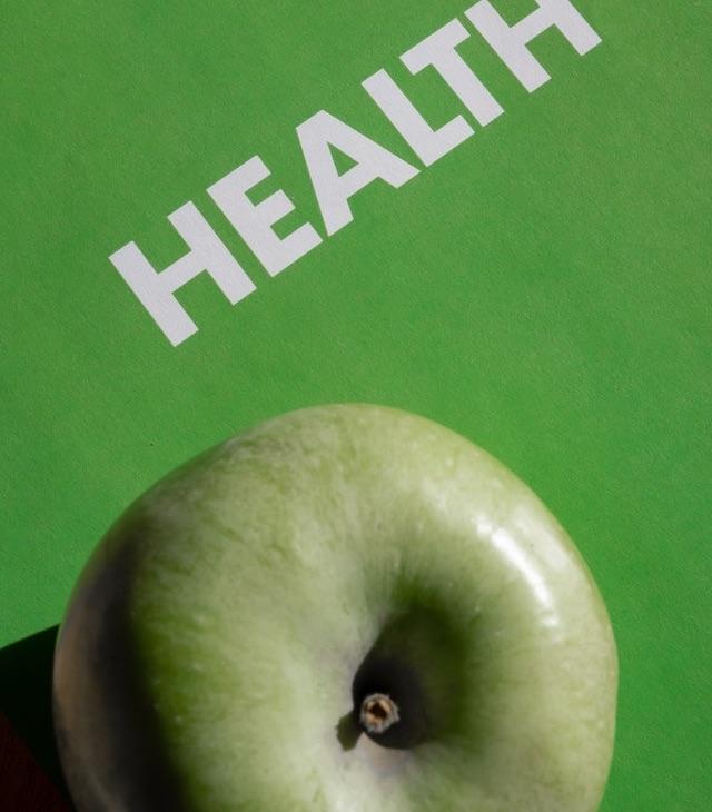 Gift for Good Health - an apple