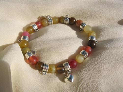 Jade love charm bracelet for health