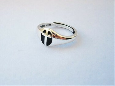 Christian Cross ring for faith and support