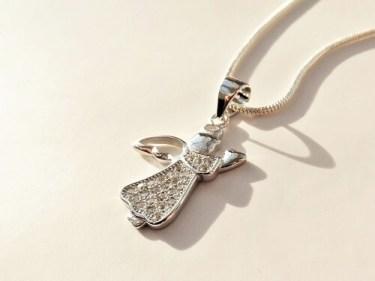 Guardian Angel spiritual necklace