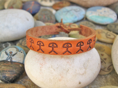 Bracelet for wellness, Indalos
