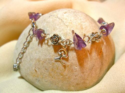 Indalo + Amethyst bracelet for wellness