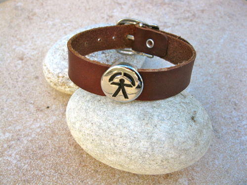 Indalo bracelet for health and success