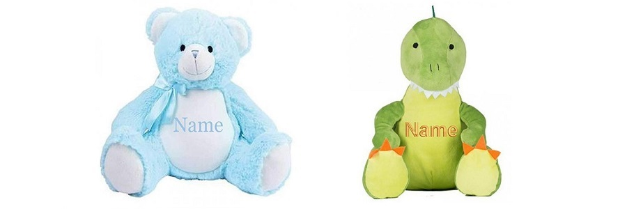 Personalised Teddies – Newborn Baby Gift