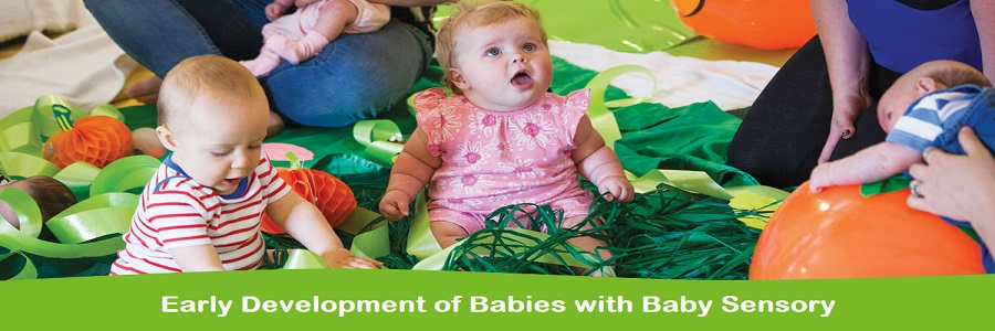 Early Development of Babies with Baby Sensory