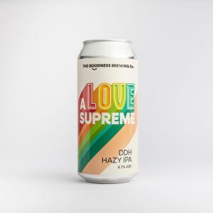 A Love Supreme DDH Hazy IPA 5.6%