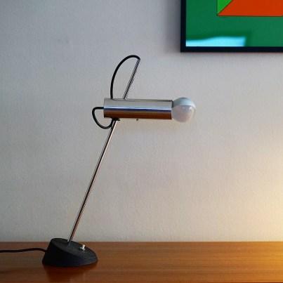 Lampe de table 566 gino sarfatti arteluce 1956 1