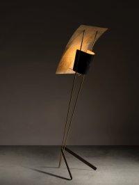 LOT 217 - PIERRE GUARICHE, LAMPADAIRE MOD. G30 DIT CERF VOLANT, 1951 - ©ARTCURIAL