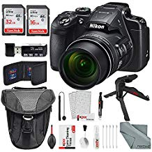 Nikon COOLPIX B700 4K Wi-Fi Digital Camera, with Total of 48GB along with Deluxe Bundle and Xpix Cleaning Accessory Kit