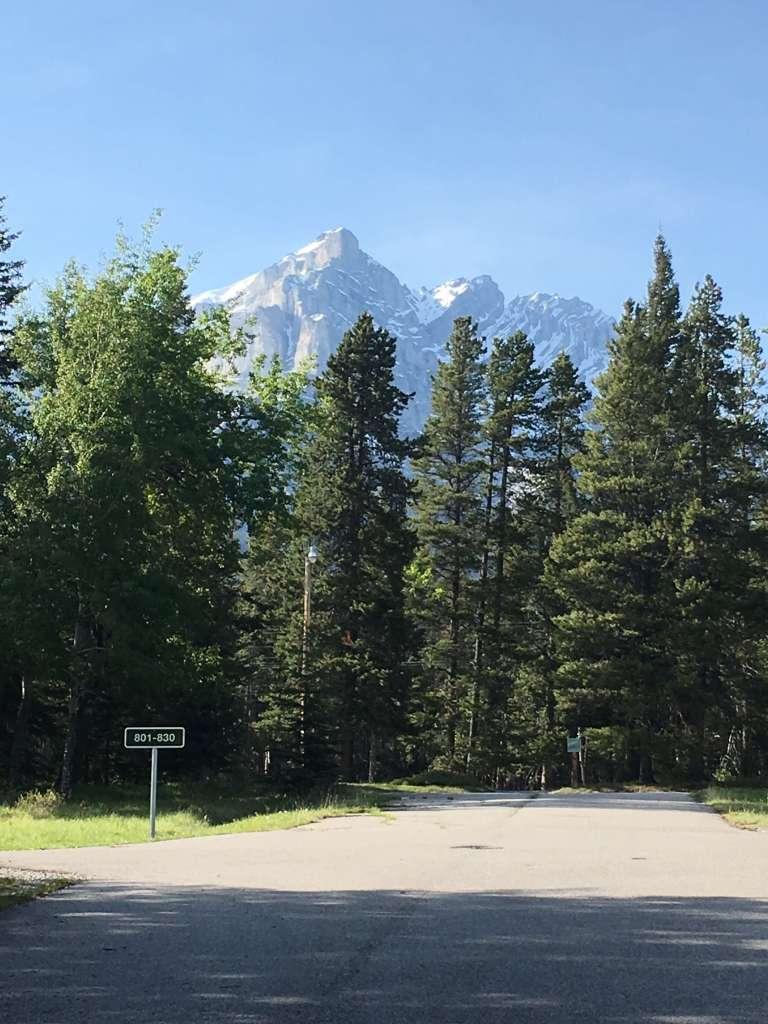 tunnel mountain trailer court campground  banff