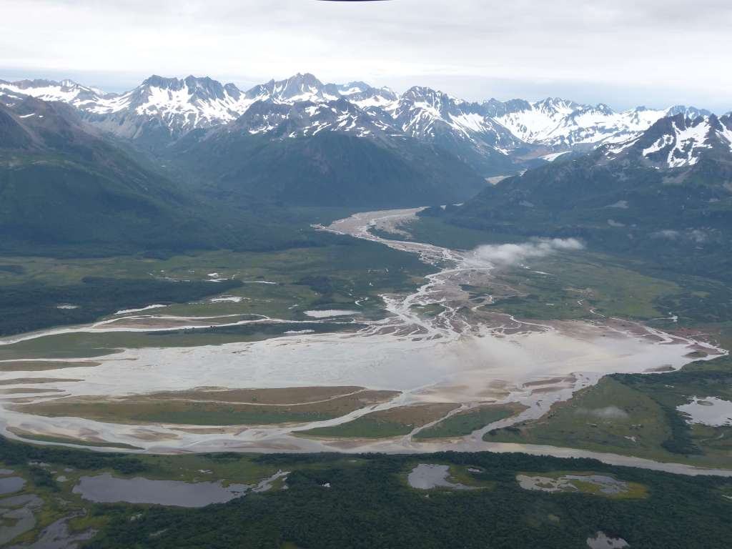 Mountains and waterways katmai