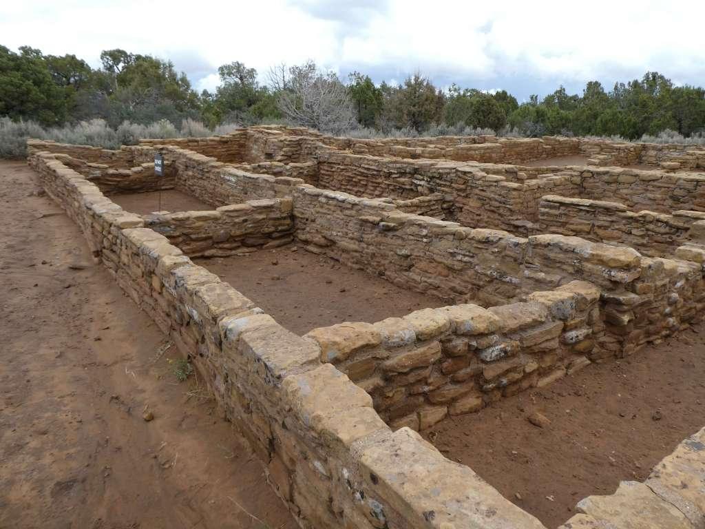 Far view ruins