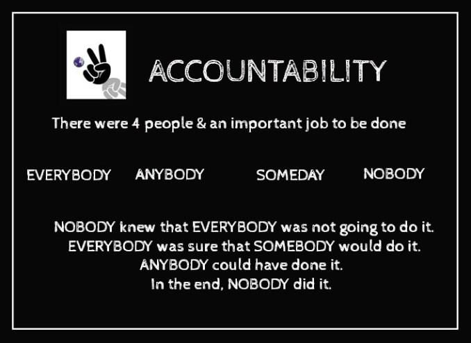 accountability in your life