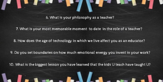 more teacher questions