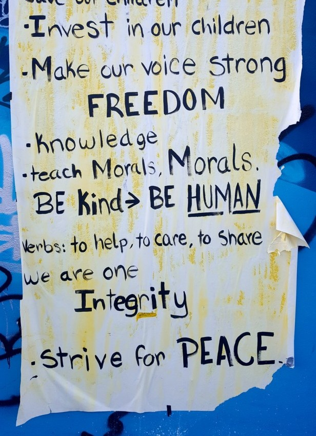 strive for peace