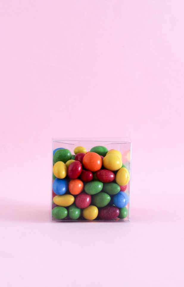 Chocolate covered candies