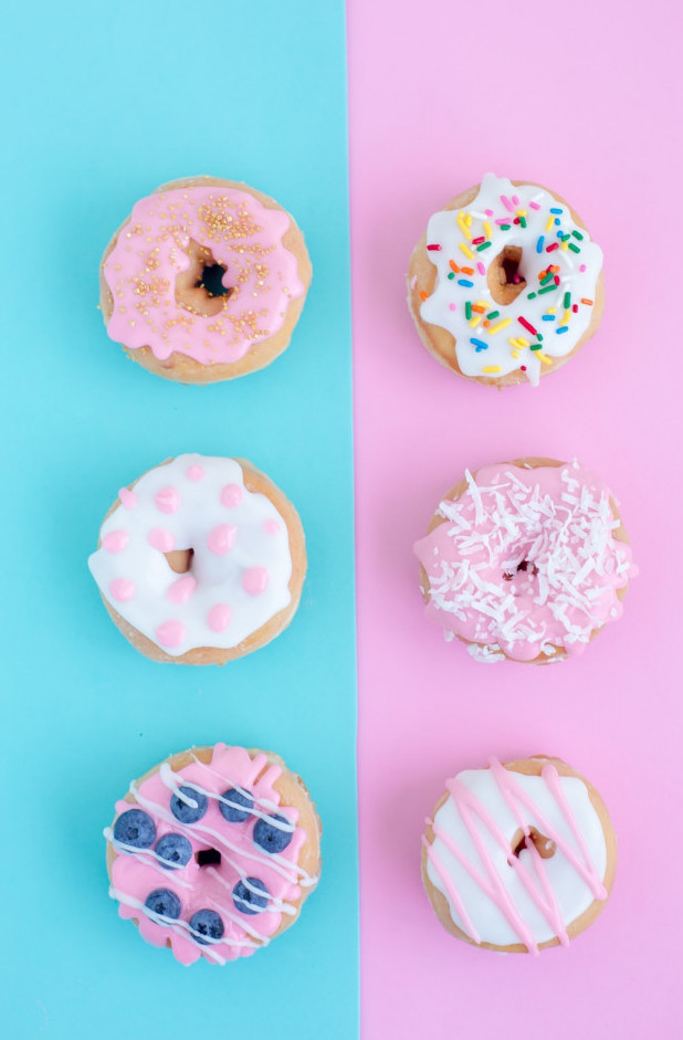 The donuts of life are vibrant donuts