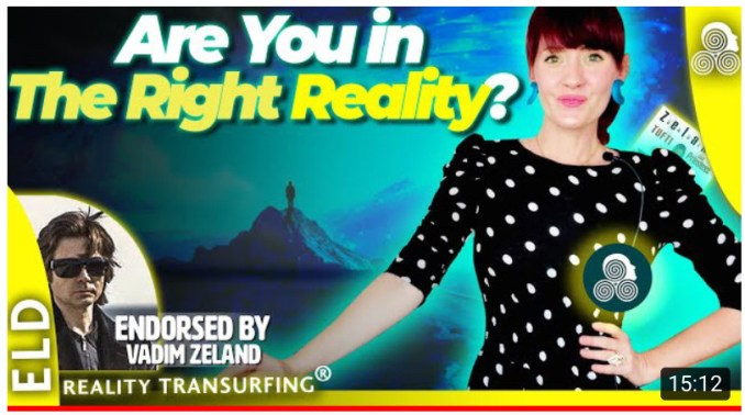 Reality transurfing with Renee Garcia