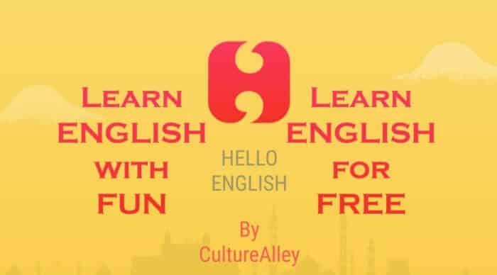 Aplikasi Bahasa Inggris Hello English