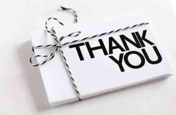 Ucapan Terimakasih Untuk Dosen