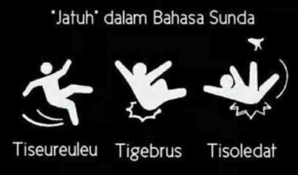 Istilah Jatuh dalam Bahasa Sunda