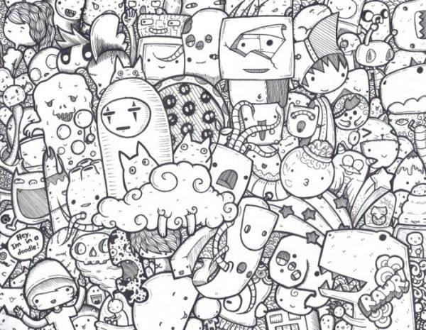 Gambar Doodle