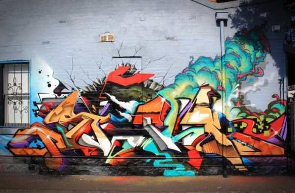 Gambar Grafiti Swag