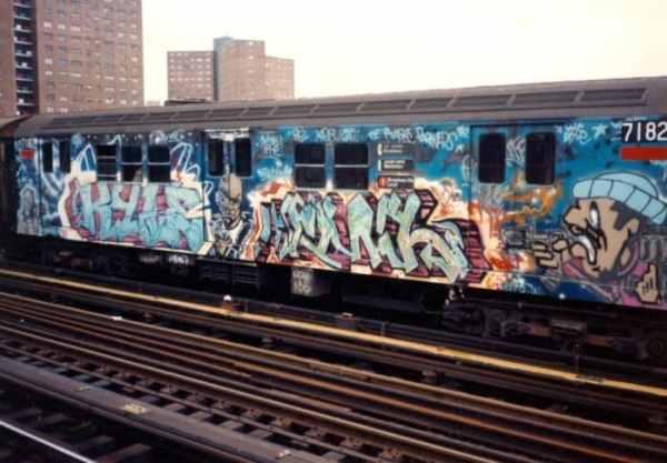 Gambar Grafiti Subway