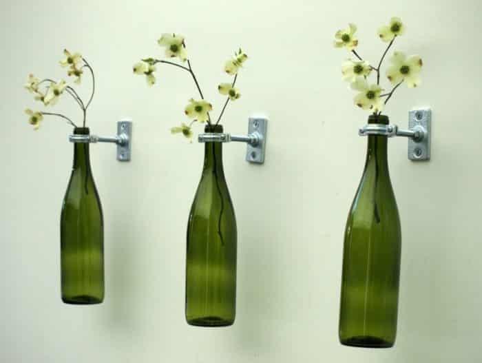 Hiasan Dinding Kamar Dengan Botol Kaca