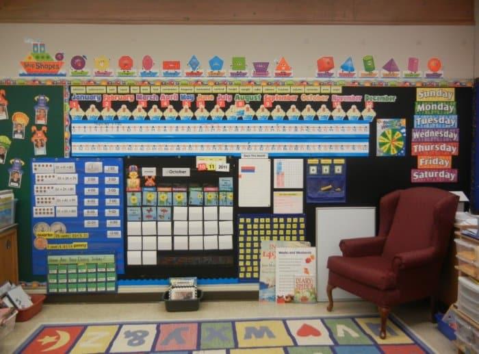 Menghias Dinding Kelas Dengan Polkadot Kertas Origami