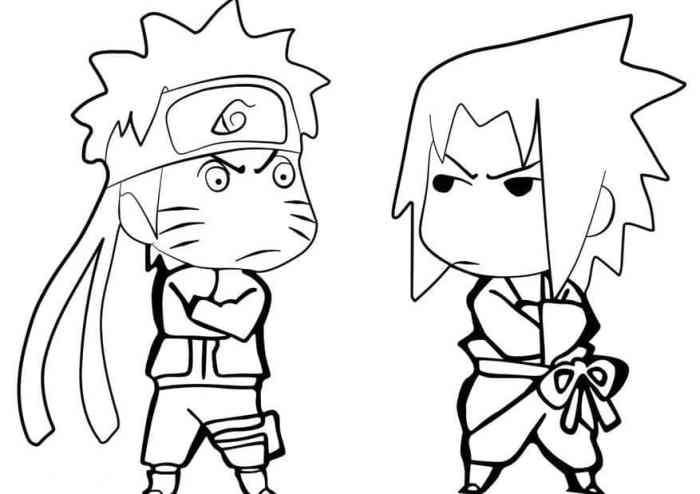 Gambar Karikatur Anime