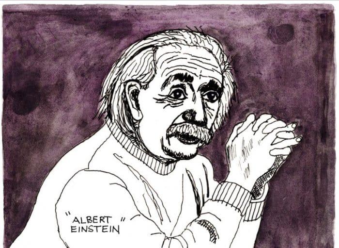 Gambar Karikatur Einsten