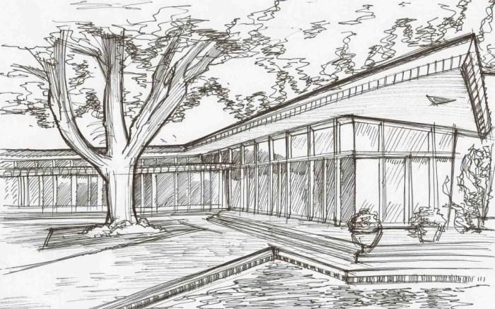 Gambar Sketsa Rumah
