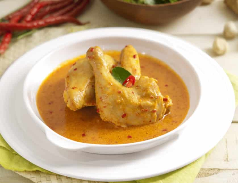 Resep Ayam Bumbu Rujak Kuah Kuning - Thegorbalsla