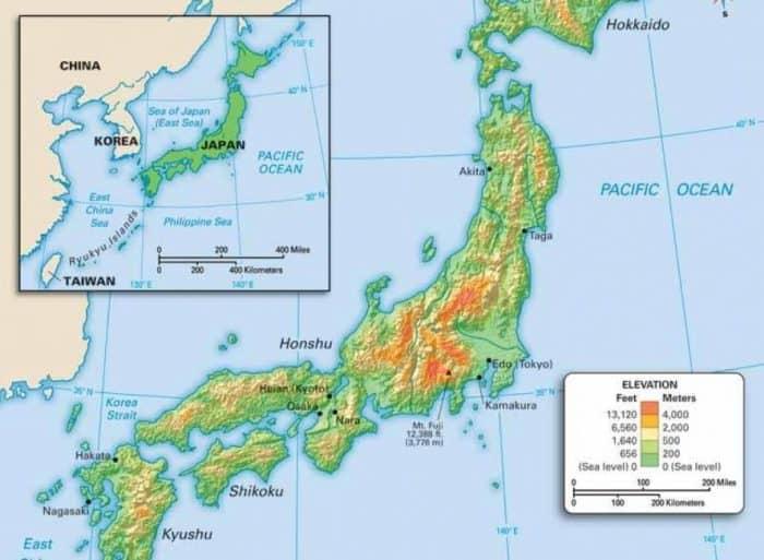 Peta indonesia hd lengkap terbaru png vector. Peta Jepang Geografi Keadaan Alam Dan Kondisi Masyarakat