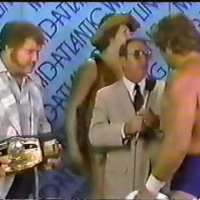 KAYFABE THEATER: Harley Race, Bob Orton & Dick Slater mock Ric Flair