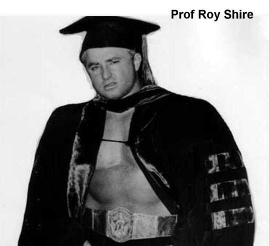 Professor Roy Shire
