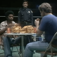 KAYFABE THEATER: Gordon Solie Announces an In-Ring Hamburger Eating Contest