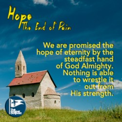 Nothing can remove our hope secure by Jesus Christ.