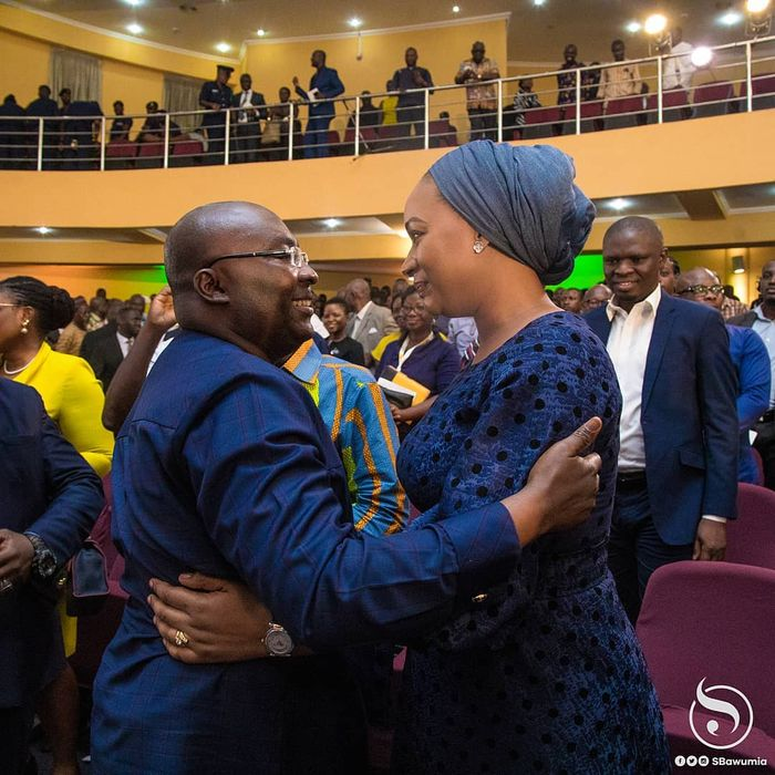 Dr Bawumia and wife, Samira