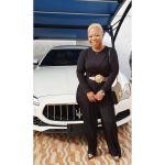 Reverend Obofour's wife new hair colour
