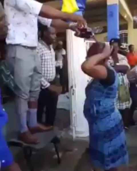 Pastor baptises church members with Fanta and Coke