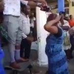 Pastor baptises church members with Fanta and Coke