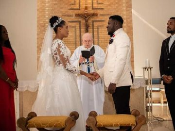 African couple marries with 12 guests