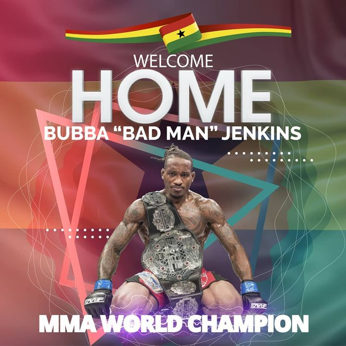 Year Of Return: Popular Mix Martial Arts Champion, Bubba Jenkins To Land In Ghana Today