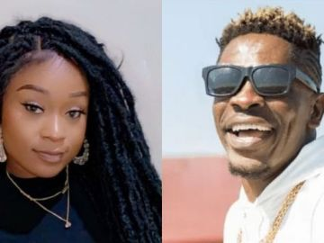 Efia Odo After Spreading Her Legs For Shatta Wale On Countless Times Claims She Doesn't Know Him