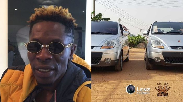 SM Fans Bought Their Own Cars And Shatta Wale Just Presented To Them As Gifts - Sarkodie's Fan Alleges