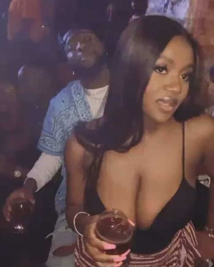 Chioma Gives Davido Once In A Lifetime Lap Dance In A Nightclub