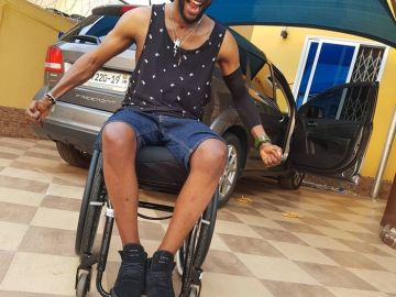 Let Me Walk Again If You Claim To Be Powerful - Ogidi Brown To Ghanaian Prophets